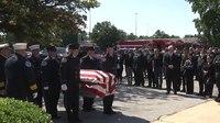 Video: Hundreds mourn fallen Del. firefighter