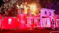 Mass. FF hospitalized following fatal 2-alarm house fire