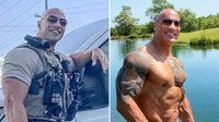 'Oh sh**': Dwayne 'The Rock' Johnson reacts to his police lookalike