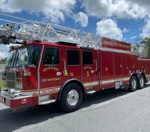 Auburn Fire Department chose a tandem axle, no-pump, no-tank design. (Courtesy photo)