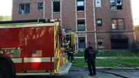 Chicago firefighters spot fatal apartment blaze before call