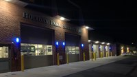 Photo of the Week: Station shines blue for EMS Week