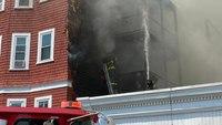 3 Boston FFs hurt battling 7-alarm blaze