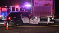 Texas officer 'fighting for his life' after collision with 18-wheeler