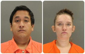 Luis Morales-Sarmiento, 33, and Katherine Morales-Sarmiento, 22, of Beverly City were charged with second degree sexual assault and third degree endangering the welfare of a child.