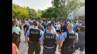 Hundreds gather for vigil honoring slain Chicago officer Ella French