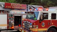Austin firefighter hospitalized after suffering electrical shock at fire