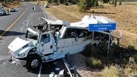 4 dead, multiple injured in Utah tour bus crash