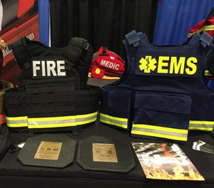 EMS ballistic vests are designed to trap the kinetic energy of a projectile and spread the energy over a larger surface area. (photo/Greg Friese)