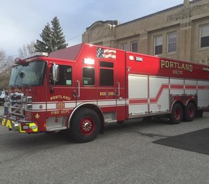 Three Portland, Maine, deputy fire chiefs have been disciplined for not enforcing mask mandates for firefighters.