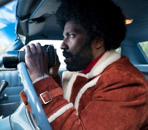 """""""BlacKkKlansman"""" is a 2018 American biographical crime film inspired by a book written by former police officer Ron Stallworth."""