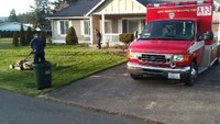 Photo of the Week: Wash. FF-EMTs finish mowing lawn for injured man
