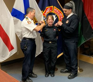 Taking time to prepare for the promotional exam will reap big benefits when it is over. (Photo/Halifax Fire)