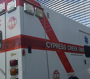 Harris County Emergency Services District No. 11 clashed with Cypress Creek EMS at a recent meeting, accusing members of having an on-site mechanic repair their personal vehicles among other alleged mishandling of resources. (Photo/Harris County Emergency Services District No. 11)