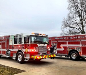 The Hobart Fire Department is considering a volunteer program to help with low staffing that has left some of its stations unmanned or with limited personnel at times. (Photo/Hobart Fire Department Twitter)