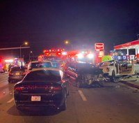 6 injured in 9-vehicle crash involving Fla. fire engine