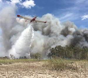About 1,200 acres in Everglades National Park have been scorched by a wildfire known as the Sunday Afternoon Fire since it began on April 19. (Photo/Josh Pargas, U.S. National Park Service)