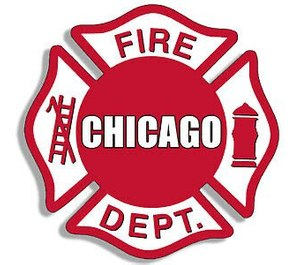 Chicago firefighters at