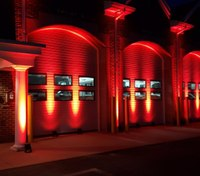 Photo of the Week: Mass. FD shines its lights on International Firefighters' Day