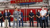 DHS secretary joins Fla. firefighters to discuss SAFER grant program