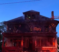 Boston FF injured battling house fire