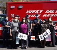Photo of the Week: Spreading the love during EMS Week