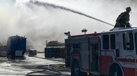 Colo. FF injured in 4-alarm fire at Goodwill store