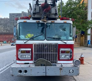 Several fire apparatus have been damaged during recent riots related to the death of George Floyd.