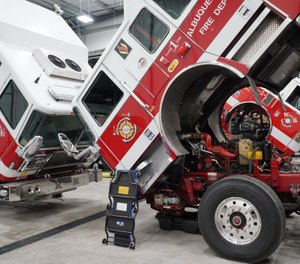 The facility is outfitted with state-of-the-art lifts that can accommodate the wide variety of rescues, fire engines, ladder trucks, and other emergency vehicles AFR has in its fleet. (Photo/AFR)