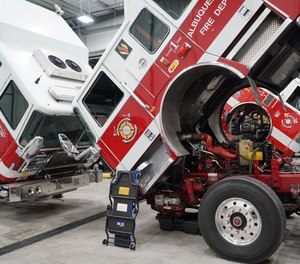 The facility is outfitted with state-of-the-art lifts that can accommodate the wide variety of rescues, fire engines, ladder trucks, and other emergency vehicles AFR has in its fleet.