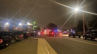 Colo. police officer shot multiple times; manhunt for suspect