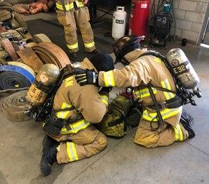 Idaho fire departments conduct mayday drills.