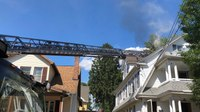 2 Mass. FFs burned at house fire
