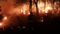 Illegal fireworks cause 3-alarm fire in Calif.