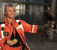 Photo of the Week: Pepsi the Hawk, defender of London's air ambulances