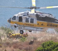Landing a helicopter: What firefighters need to know to help