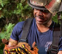 Photo of the Week: Ga. engineer rescues tiniest fire survivor