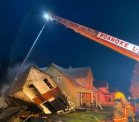 Va. FF injured in complete structure collapse
