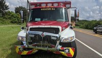 Fla. EMS truck struck in head-on crash
