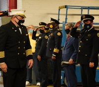 Retiring NOFD superintendent honored at leadership transfer ceremony