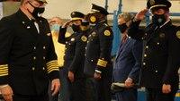 Retiring NOFD superintendent honored at leadership transfer ceremony