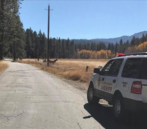 Every police officer is on the front lines of the battle against the coronavirus. (Photo/El Dorado COunty Sheriff's Office)