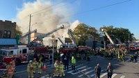 At least 3 FDNY FFs injured in 5-alarm blaze