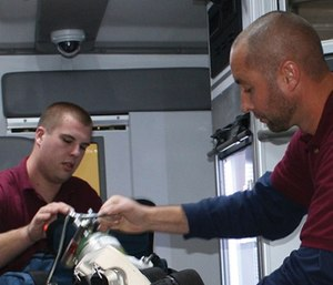 The state of Michigan is offering a scholarship to students in the paramedic program at Jackson College to help combat the paramedic shortage in the state. (Photo/Jackson College)