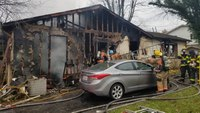 Md. firefighter injured in mayday incident at fatal fire