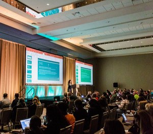 More than 300 attendees came together to explore best practices such as engaging a millennial workforce, training tactics to increase employee safety, and maintaining a culture of compliance.(Photo/Entrust Conference)