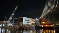 New floating fire station arrives in San Francisco