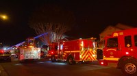5 Calif. firefighters injured in flashover at house fire