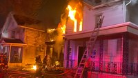 3 NY FFs injured in 3-alarm blaze