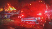 Video: Texas fire, EMS rescue and revive unresponsive father, daughter from house fire